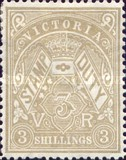 [Revenue Stamps of 1880-1884 in New Colors - Inscription