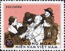 [Ho Chi Minh, 1890-1969 and Soldiers, type AM1]