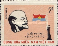 [The 100th Anniversary of the Birth of Vladimir Iljitsch Lenin, 1870-1924, type U3]