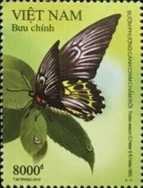 [Butterflies - World Stamp Exhibition CHINA 2019, Wuhan City, type EDA]