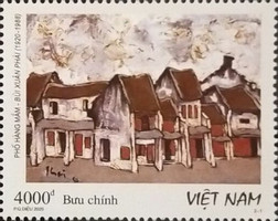 [The 100th Anniversary of the Birth of Bui Xuan Phai, 1920-1988, type EEX]