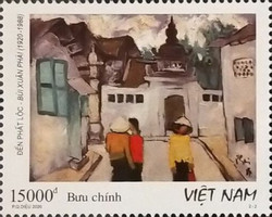 [The 100th Anniversary of the Birth of Bui Xuan Phai, 1920-1988, type EEY]