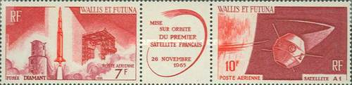 [Airmail - Launching of the First French Satellite, type ]