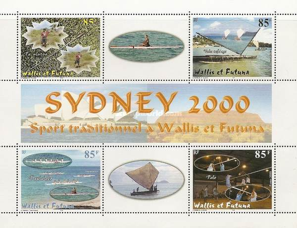 [Olympic Games - Sydney, Australia - Traditional Sports of Wallis and Futuna, type ]