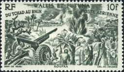 [Airmail - From Chad to the Rhine, type AA]