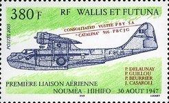 [First Flight between Noumea and Hihifo - 1947, Typ ACH]