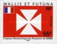 [Flag of the Kingdom of Uvéa - Self Adhesive Stamp, Typ ACW]
