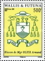 [Coat of Arms of Mgr. Armand Olier, 1851-1911, Typ AEC]