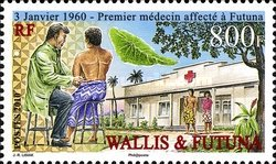 [The 50th Anniversary of the First Doctor in Futuna, Typ AFT]