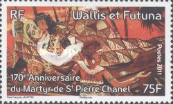 [Paintings - The 170th Anniversary of the Death of St. Pierre Chanel, 1803-1841, Typ AGP]