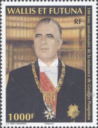 [The 100th Anniversary of the Birth of Georges Pompidou, 1911-1974, Typ AGV]