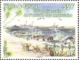 [The 70th Anniversary of the Arrival of The Americans, type AHL]