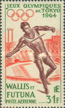 [Airmail - Olympic Games - Tokyo, Japan, type BH]