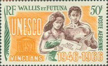 [Airmail - The 20th Anniversary of UNESCO, type BP]