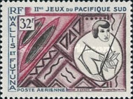 [Airmail - South Pacific Games - Noumea, New Caledonia, type BQ]