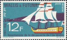[Airmail - The 200th Anniversary of Discovery of Wallis Island, type BS]