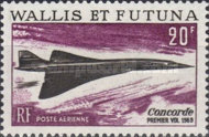 [Airmail - The First Flight of the Concorde, type BV]
