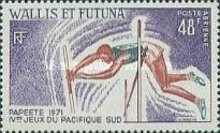 [The 4th South Pacific Games - Papeete, Tahiti, type CH]