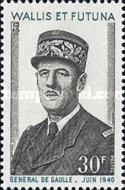 [The 1st Anniversary of the Death of General Charles de Gaulle, 1890-1970, type CJ]