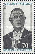 [The 1st Anniversary of the Death of General Charles de Gaulle, 1890-1970, type CK]