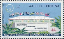 [Airmail - The 25th Anniversary of South Pacific Commission, type CL]