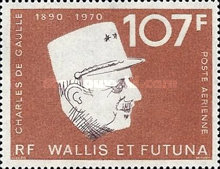 [The 3rd Anniversary of the Death of General Charles de Gaulle, 1890-1970, type CV]