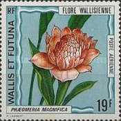 [Airmail - Flora of Wallis Islands, type CY]