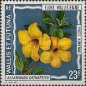 [Airmail - Flora of Wallis Islands, type DA]