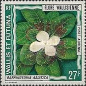 [Airmail - Flora of Wallis Islands, type DB]