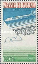 [Airmail - The 1st Regular Air Service to New Caledonia, Typ DN]