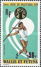 [Airmail - The 5th South Pacific Games, Guam, type DQ]