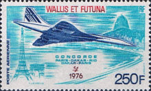 [Airmail - The 1st Commercial Flight of Concorde, Typ DX]