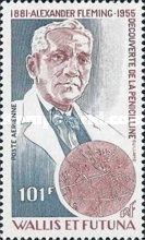[Airmail - The 25th Anniversary of the Death of Alexander Fleming, Discoverer of Penicillin, 1881-1955, Typ IA]
