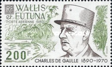 [Airmail - The 10th Anniversary of the Death of Charles de Gaulle, French Statesman, 1890-1970, Typ IB]