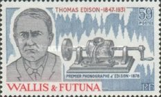 [The 50th Anniversary of the Death of Thomas Edison, Inventor, 1847-1931, Typ IP]