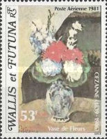[Airmail - The 75th Anniversary of the Death of Paul Cezanne, 1839-1906, and the 100th Anniversary of the Birth of Pablo Picasso, Artist, 1881-1973, Typ IT]