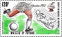 [Airmail - Football World Cup - Spain 1982, Typ IV]