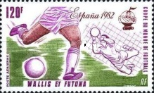 [Airmail - Football World Cup - Spain, Typ JG]
