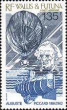[Airmail - The 25th Anniversary of the Death of Auguste Piccard, Physicist, 1884-1962, Typ NX]