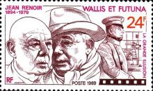 [The 10th Anniversary of the Death of Jean Renoir, Film Director, 1894-1979, Typ OY]