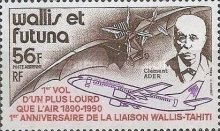 [Airmail - The 100th Anniversary of First Heavier-than-Air Flight and the 1st Anniversary of Wallis-Tahiti Air Link, type PO]