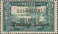"""[Adherence to General de Gaulle - Stamps of 1930-1938 Overprinted """"France Libre"""", type Q10]"""