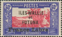 """[Adherence to General de Gaulle - Stamps of 1930-1938 Overprinted """"France Libre"""", type Q16]"""