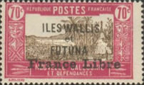 """[Adherence to General de Gaulle - Stamps of 1930-1938 Overprinted """"France Libre"""", type Q18]"""
