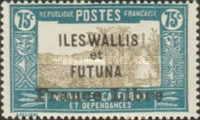 """[Adherence to General de Gaulle - Stamps of 1930-1938 Overprinted """"France Libre"""", type Q19]"""