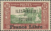 """[Adherence to General de Gaulle - Stamps of 1930-1938 Overprinted """"France Libre"""", type Q20]"""