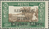 """[Adherence to General de Gaulle - Stamps of 1930-1938 Overprinted """"France Libre"""", type Q21]"""