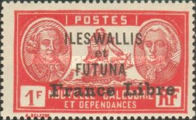 """[Adherence to General de Gaulle - Stamps of 1930-1940 Overprinted """"France Libre"""", type Q23]"""
