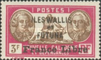"""[Adherence to General de Gaulle - Stamps of 1930-1940 Overprinted """"France Libre"""", type Q29]"""
