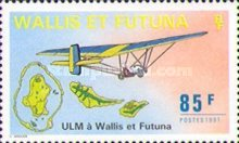 [Microlight Aircraft Flying in Wallis and Futuna, type QF]